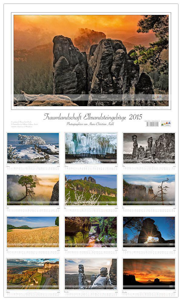 Kalender_Traumlandschaft_Elbsandsteingebirge_2015