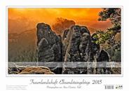 Bildkalender Traumlandschaft Elbsandsteingebirge 2015 Titelbild